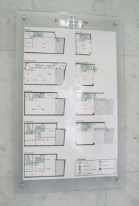 Plan d'intervention avec dessin de l'ensemble des niveaux