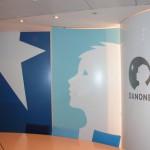 Décor adhésif intérieur mural vinyle salle de réunion - Décor adhésif intérieur