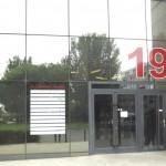 Numéro d'immeuble et nom des sociétés en vinyle