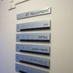 Sign-Capitale - Plaque immeuble aluminium