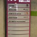 Sign-capitale Signalétique modulaire parking - panneau de sous sol