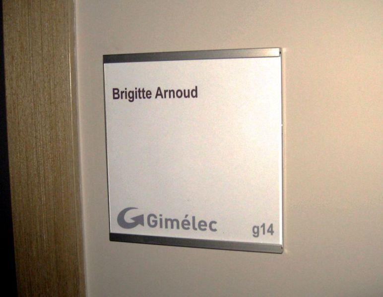 Plaques De Porte Signalétique Intérieure SignCapitalefr - Plaque de porte