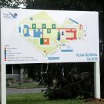 Sign-Capitale Signalétique extérieure - panneau directionnel hôpital