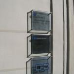 Sign-capitale Signalétique externe plaque professionnelle en verre