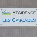 Sign-Capitale Signalétique externe - plaque de résidence anti-graffiti