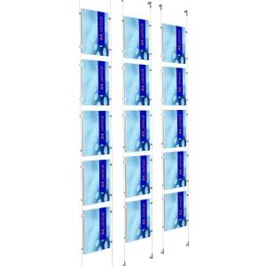 affichage multiple pour vitrine