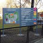 Plan de ville et directionnel modulable