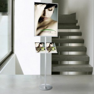 Support affiches et brochures