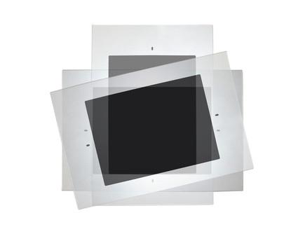 support mural tablette ipad sign capitale. Black Bedroom Furniture Sets. Home Design Ideas