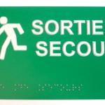Signalétique de sécurité pour ERP