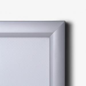 Profil en aluminium à angles droits pour ce cadre lumineux leds
