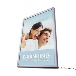 Cadre d'affichage leds pour mise en valeur de vos affiches