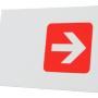 Planche horizontale pour porte affiche