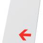Planche verticale pour porte affiche