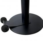 Sign-capitale - Signalétique - roues pour socle de potelet enrouleur