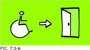 Sign-Capitale - Sortie de secours PMR PICTOCAP