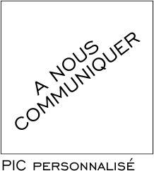 Sign-Capitale- Pictogramme à personnalsier
