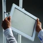 Affichage vitrine