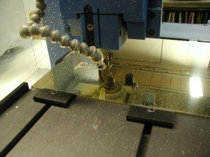Gravure plaque laiton