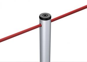 Potelet Line corde élastique