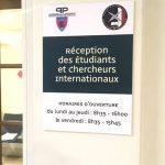 prefecture paris cite u panneau directionnel intérieur