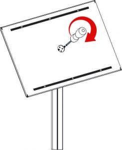 système de rotation de votre affichage