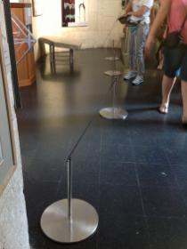 sécurisation dans musée