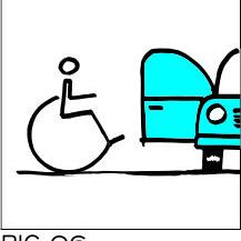 Sign-Capitale Plaque d'accès parking handicapé PICTOCAP