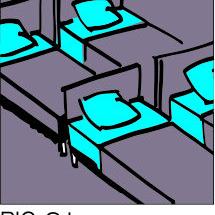 Sign-Capitale - Plaque porte dortoir PICTOCAP