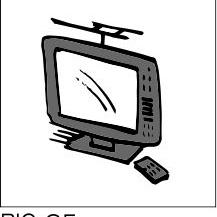 Sign-Capitale - Plaque porte salle télévision PICTOCAP