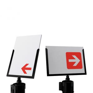 Sign-capitale - Signalétique - porte affiches A4 paysage