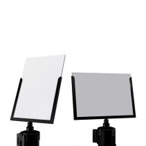 Sign-capitale - Signalétique - porte affiche A4 (détail)
