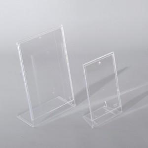 Sign-Capitale - Signalétique interne, chevalet plexiglas A4 A5