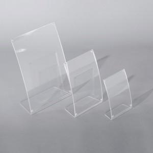 Sign-Capitale - Chevalet comptoir galbé aimants