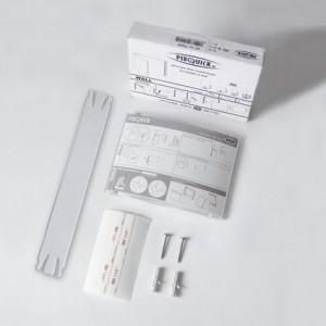 Sign-Capitale - signalétique intérieure plexi galbé kit