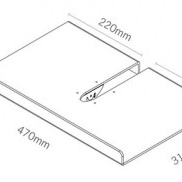 schéma techniques porte brochures