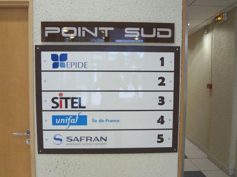 immeuble de bureau nom des sociétés