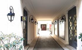 panneaux pour entrées dans cour immeuble