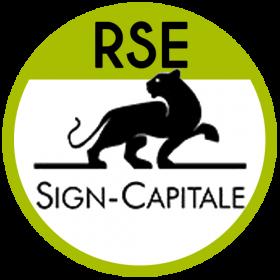 logo responsabilité sociétale des entreprises sign capitale
